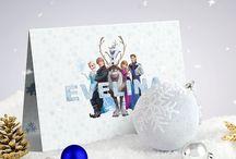 Invitatie de botez cu Elsa din Frozen (Tinutul de Gheata) / Invitație de botez modernă cu tema Regatului de Gheață și Elsa, din celebrul desen animat Frozen. O invitație de botez cu fulgi de zăpadă, desprinsă parcă dintr-un basm feeric, perfectă pentru acest gen de eveniment. Numele copilului este scris pe copertă cu litere de gheață, iar textul interior este scris cu un font special cu tema Frozen. #babyshower #invitation #Elsa #Frozen