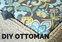 Ottoman, taburet