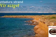 Horvát strandok