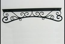 Ceiling Mount Sign Brackets / #Ceiling mount sign brackets are an architectural statement and great replacement for unattractive bare chains traditionally used.
