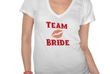 Team Bride / What wedding team are you on? These wedding items are exclusively for anyone on Team Bride or part of the Bride's family and friends.