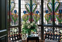 Art Nouveau ABLAK