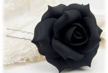 Rose Hair Flowers / Popular Rose hair flowers from Stranded Treasures.