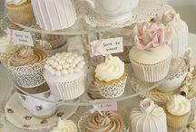 Vintage Cup Cake Wedding