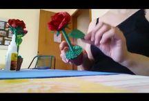 Flores modeladas de EVA