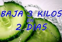 zumo de piña y pepino