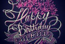 Verjaardag Mama