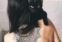 Black Cats / Welcome to our board for black cats! Photo source info might have been changed/lost along the way. If a photo belongs to you, please let us know so we can offer credit! Shop Body Jewelry here: https://askandembla.net/