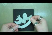 Tim Holtz Tutorials how to work with.....