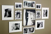 Display wedding photos