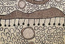 Australian Indigenous Painters and Paintings / Inspiring design, line work, colour and overall effect from Indigenous Australian Painters.