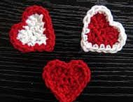 Crochet Motifs:  Hearts + Non-Crochet Hearts / by Joan Nicholes