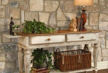 Console/Sofa Tables / A variety of beautiful console or sofa tables for different areas of your home. / by Angela Thompson