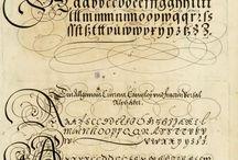 Kaligrafia, papier písanie
