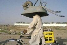 Levo Comigo na Bike... / Coisas que você pode transportar na bicicleta