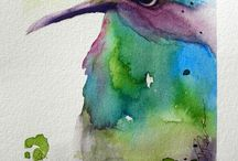 watercolour painting / paint and fun