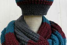 Tuque et foulard
