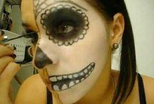 Dia de los Metros makeup / by Marcella Guajardo