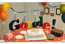 Google's Birthday Logos