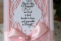 Cards by Christina from Flowers, Ribbons and Pearls