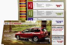 Print Advertising for Car dealerships