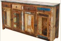 Reclaimed Wood Furniture / by SierraLivingConcepts