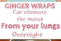 ginger wrap
