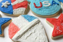 Red, White and Blue! / Patriotic Cookies | Labor Day Cookies | 4th of July Cookies | Independence Day Cookies | Firework Cookies | Flag Cookies | American Cookies