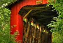 covered bridges / by Sam Yoder