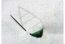 tecnica de bordado en hilo