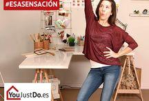 #EsaSensación / ¿Cómo expresas #EsaSensación? Móntatelo en casa con YouJustDo.es