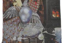 H. C. Andersen eventyr puder / Digitalt trykte enestående samling af puder, der indeholder fire af de mest berømte fortælling af forfatteren HC Andersen