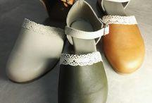 Esthé leather shoes