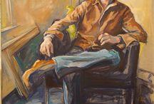 Rebecca Noelle Art Studio / Original paintings by me, Rebecca Noelle.