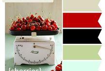 Color palette Mel