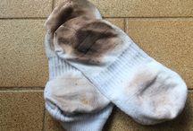 Limpar meias.
