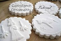 cornstarch ornements