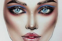 Make up / Face Charts