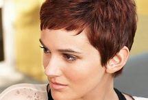 coupe courtes et couleur cheveux Cosas que ponerse
