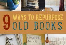 Books headboard