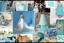 Tiffany Themed Wedding