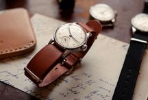 Watches / Wristwatches for men / by Peter Hirmer