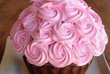 Tortas y pasteles decorados con flores