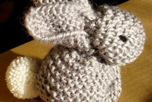 lapin tricot