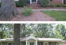 Refinish brick bungalow