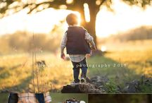 Outdoor sets for portraits