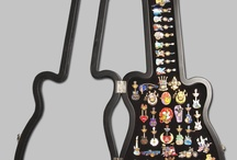 Pins! Pins! And more pins! / Hard Rock Cafe pin collections from all over the world!
