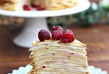 Crepes / Interesting ways to display and serve Crepes