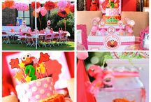 Briannie's 3rd Birthday_ELMO / Birthday Party Planning  - 3 year old  / by Jenise B
