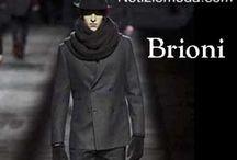 Brioni uomo / Brioni collezione e catalogo primavera estate e autunno inverno abiti abbigliamento accessori scarpe borse sfilata uomo.
